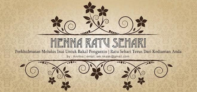 HENNA RATU SEHARI
