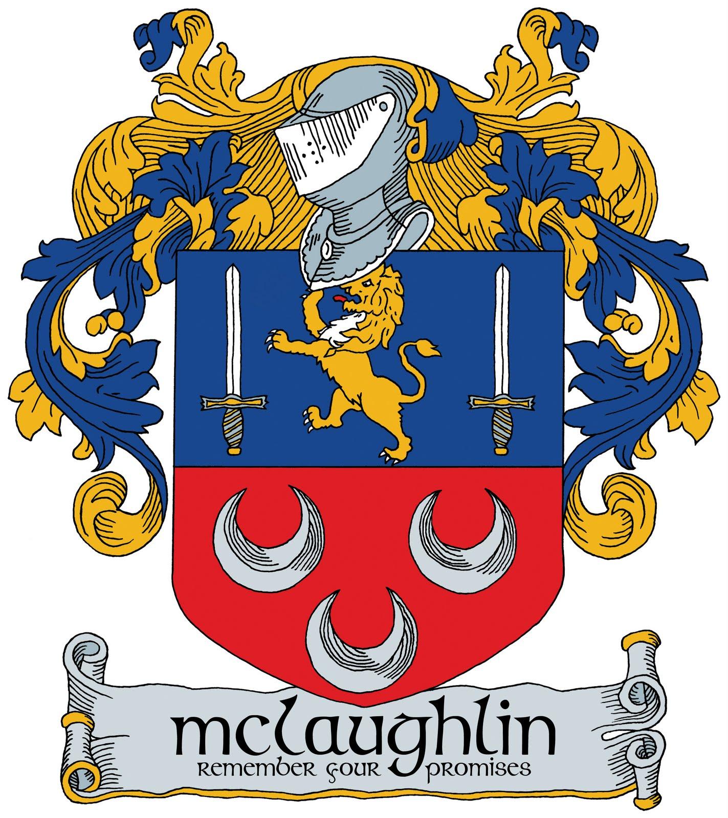 Robert mclaughlin the mclaughlin family coat of arms the mclaughlin family coat of arms buycottarizona Images