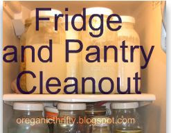 Fridge & Pantry Cleanout Challenge Reminder!