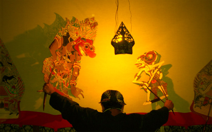 �Wayang kulit� plays are