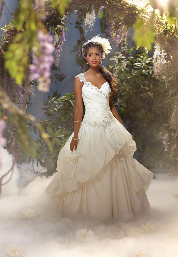 disney boutique bridal gowns tiana collection