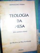 Capa provisória do Livro Teologia da Mesa!
