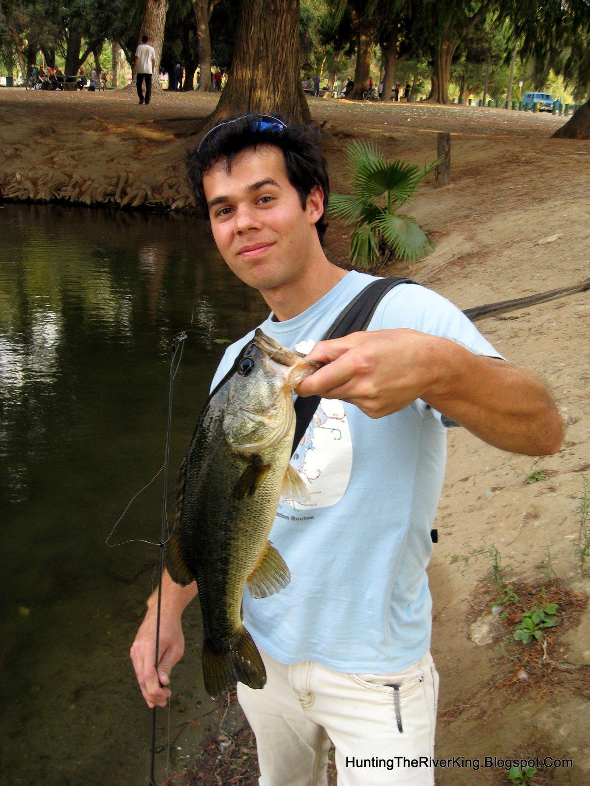 hunting the river king riverside bass fishing