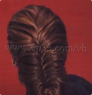 خطوات تضفير الشعر للبنات فى المدرسه وا الضفائر لفرنسيه بالصور EUU28888