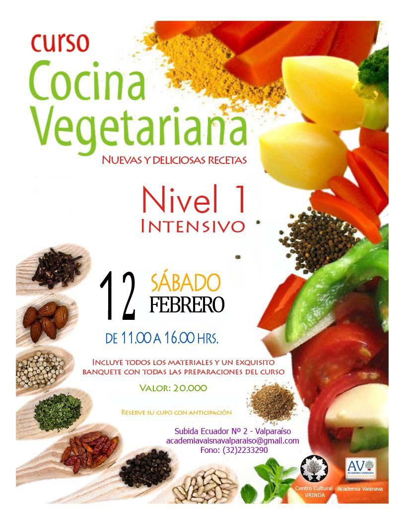 Govinda s restaurant vegetariano curso de cocina vegetariana for Cursos de cocina