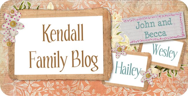 Kendall Family Blog