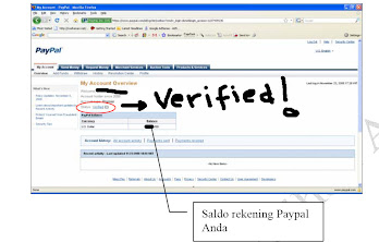 Verified Paypal, Mau?