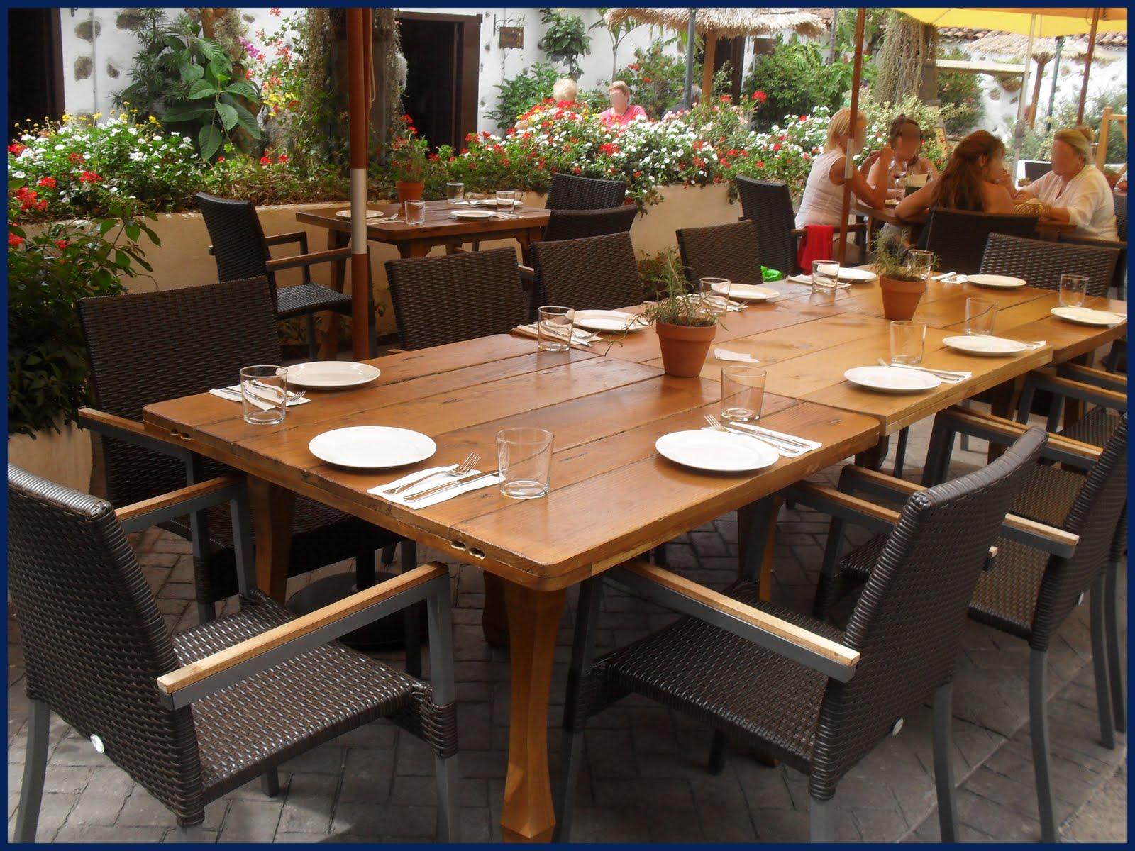 Comedores de terraza comedor terraza moderna lamparas - Comedor terraza ...