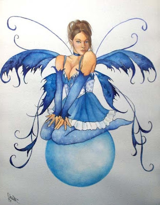 Fairy tattoos are fairly common in females as fairies are associated with