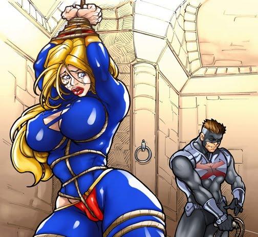 Superheroine Bondage & Erotica