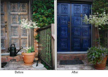 5 great front door colors crafty geordi for 10 best front door colors