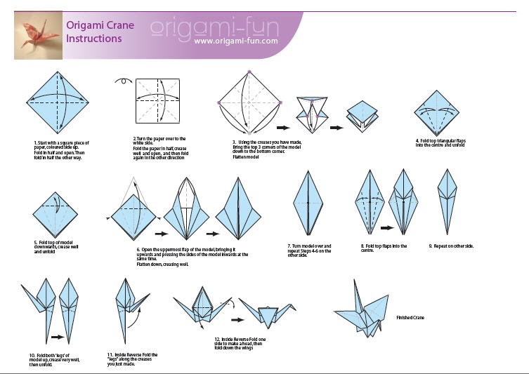 how do you make a origami crane 28 images paper cranes