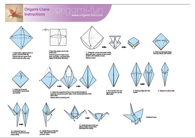 how do you make a origami crane 28 images how do you