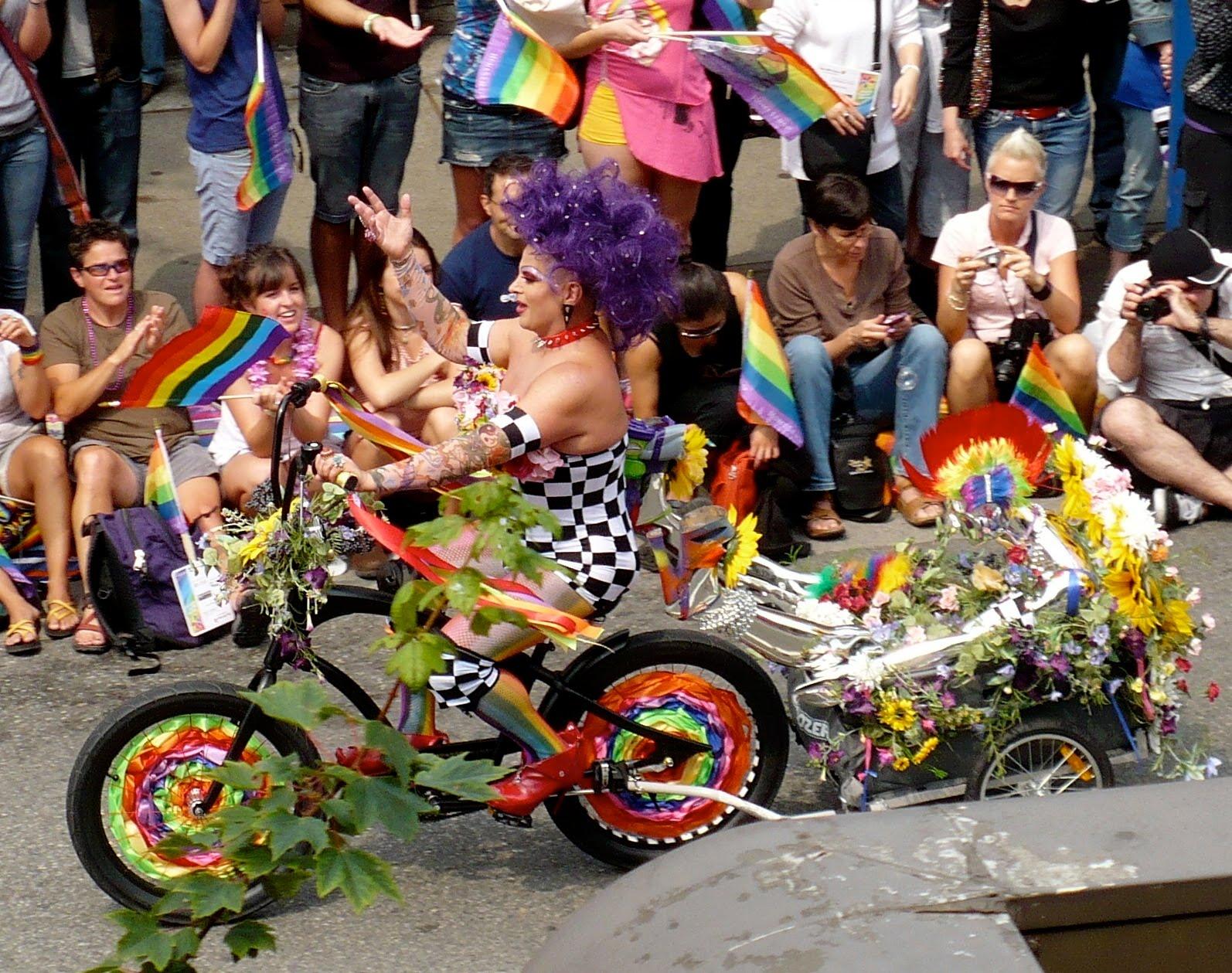 Gay Pride, Vancouver Edition .