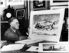 FDR with 'The Road-Winter'