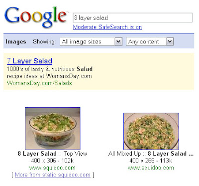 google image search 8 layer salad