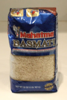 Mahatma Basmati Rice package
