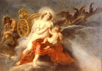 La Vía Láctea, Rubens