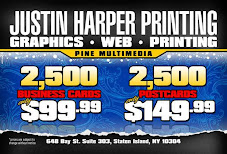 2500 business cards for $99.00 / 2500 postcards for $149