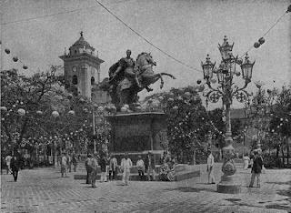 fotos de la plaza bolivar de caracas: