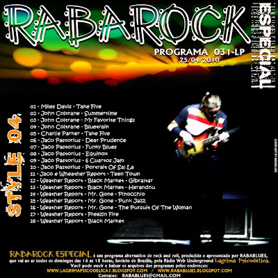 TRACK LIST DO PROGRAMA RABAROCK_031-LP