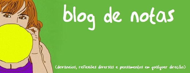 Blog de Notas