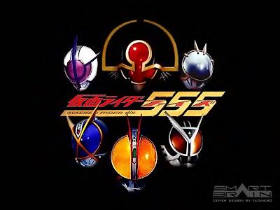 Kamen Rider on Rider    Utraman   Sentai Fansclub  Kamen Rider Faiz 2003