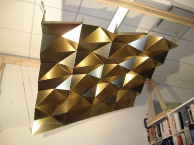 L 250 Cio Santos Folded Metal Ceiling