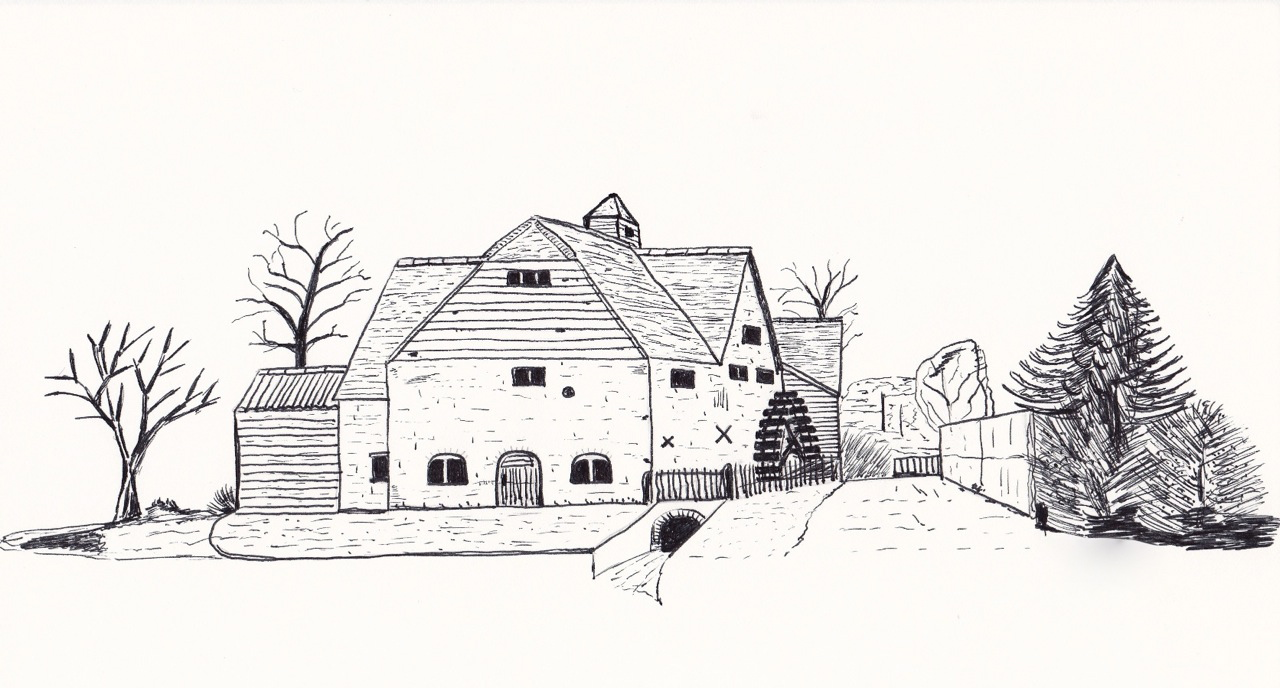 33  Großartig countryside house for Countryside House Drawing  303mzq