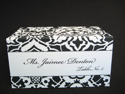 Wedding Places on Blush Paperie  Fun  Modern Wedding Place Cards