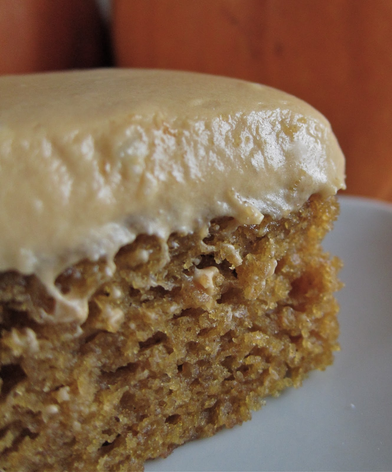 Arctic Garden Studio: Pumpkin Cake with Dulce de Leche Icing