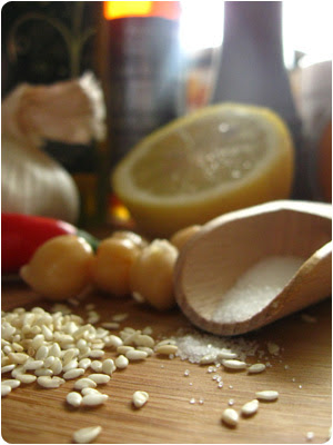 Hummus, Zutaten, Kichererbsen, Selbermachen; Rezept, Video