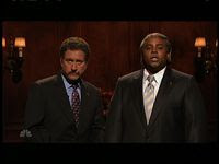 Darrell Hammond in brown face on Saturday Night Live