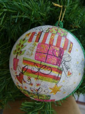 Via centostelle 41 adornos navide os - Adornos navidenos a mano ...