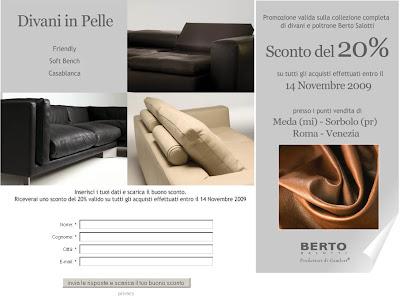 Berto Salotti Blog: Divani in Pelle: Promozioni in Corso!