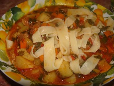 Суп лагман - рецепт