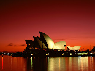 Scarlet Night, Sydney Opera House, Sydney, Australia Hot Wallpapers