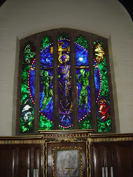 Saint John's Hospital, Lichfield: John Piper's East Window