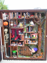 Librera de brujas -  Witchy bookcase