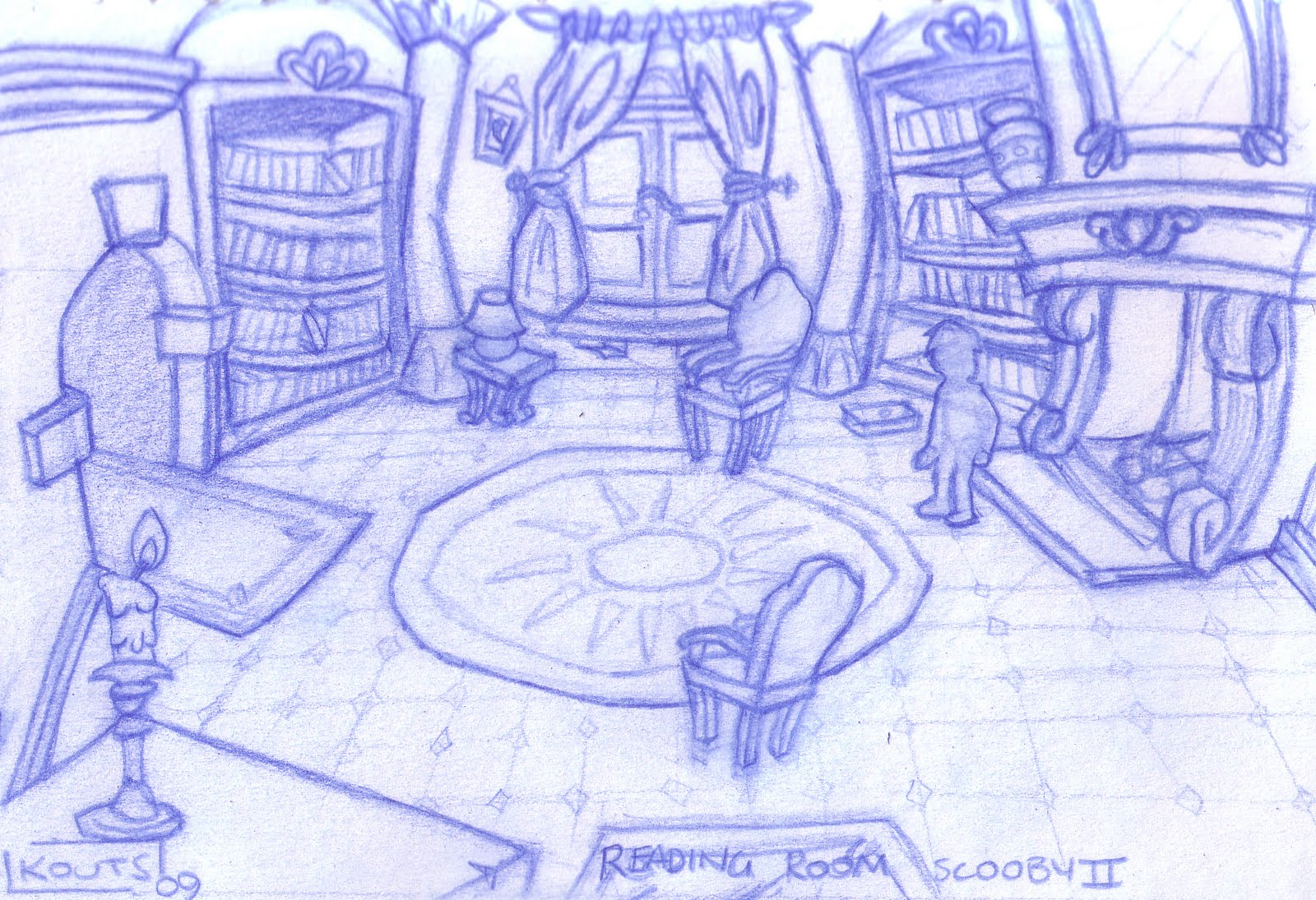 Art of stk scooby doo spooky swamp concept art for The family room kouts in