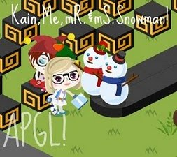 ♥[SC].khainah and Mr Ms Snowman!