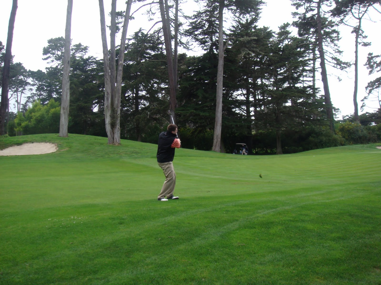 playing through my search for great golf olympic club ocean