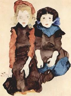 Madchen-Schiele,copia bimbi