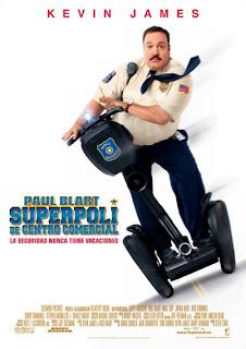 Superpoli de Centro Comercial Poster