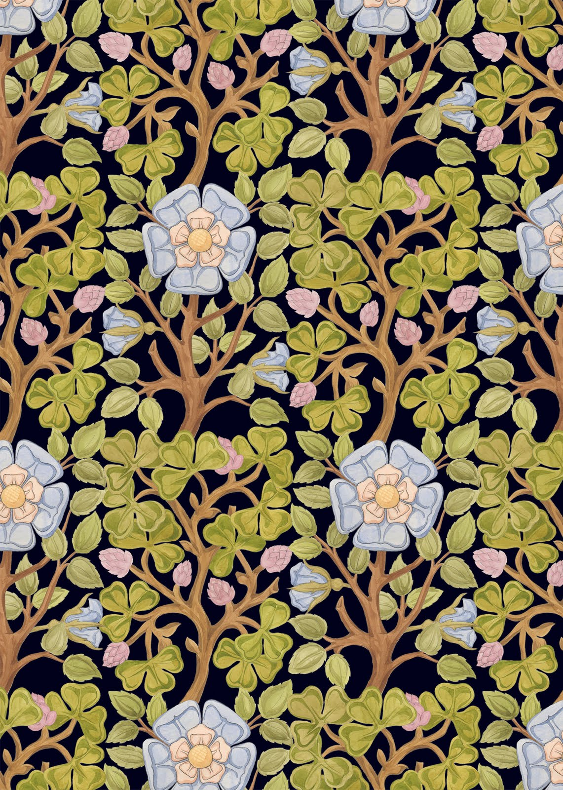 Sl design neighbourhood colour art nouveau pattern for Art nouveau shapes