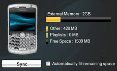 BlackBerry Media Sync iTunes glazba video besplatni programi download