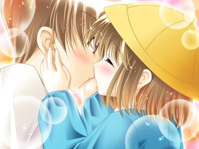 Prvi poljubac - e-card čestitka za Valentinovo