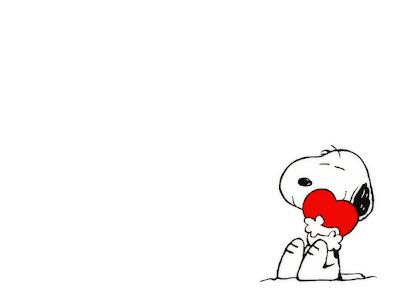 Snoopy i srce za Valentinovo