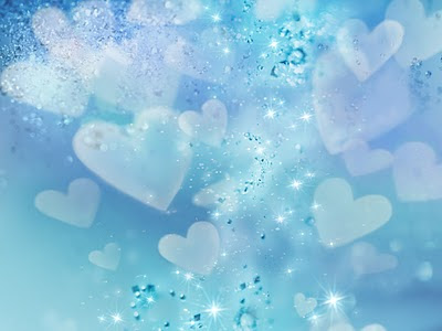 Dijamanti i srca, e-card čestitka za Valentinovo