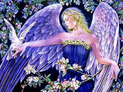 Anđeo ljubavi i mira, slika za zaljubljene